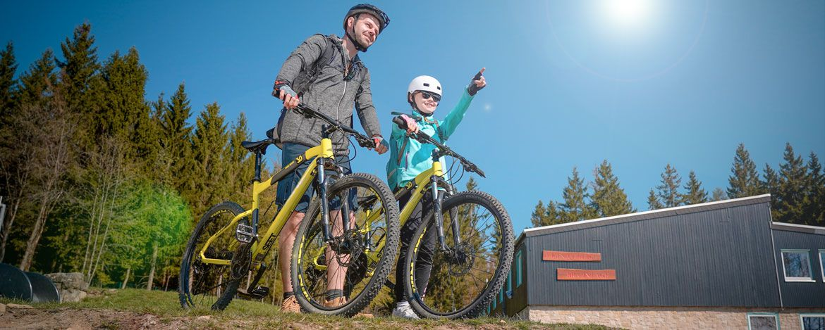 Action-Spaß beim Happy-Bike-Weekend