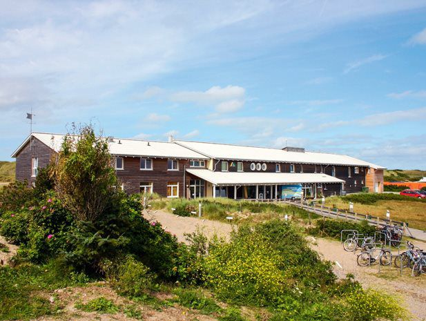 The youth hostel on Westerland.