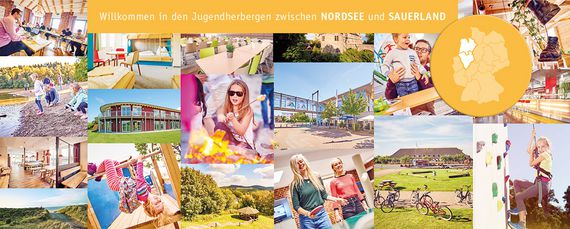 Nordsee Sauerland Collage DJH